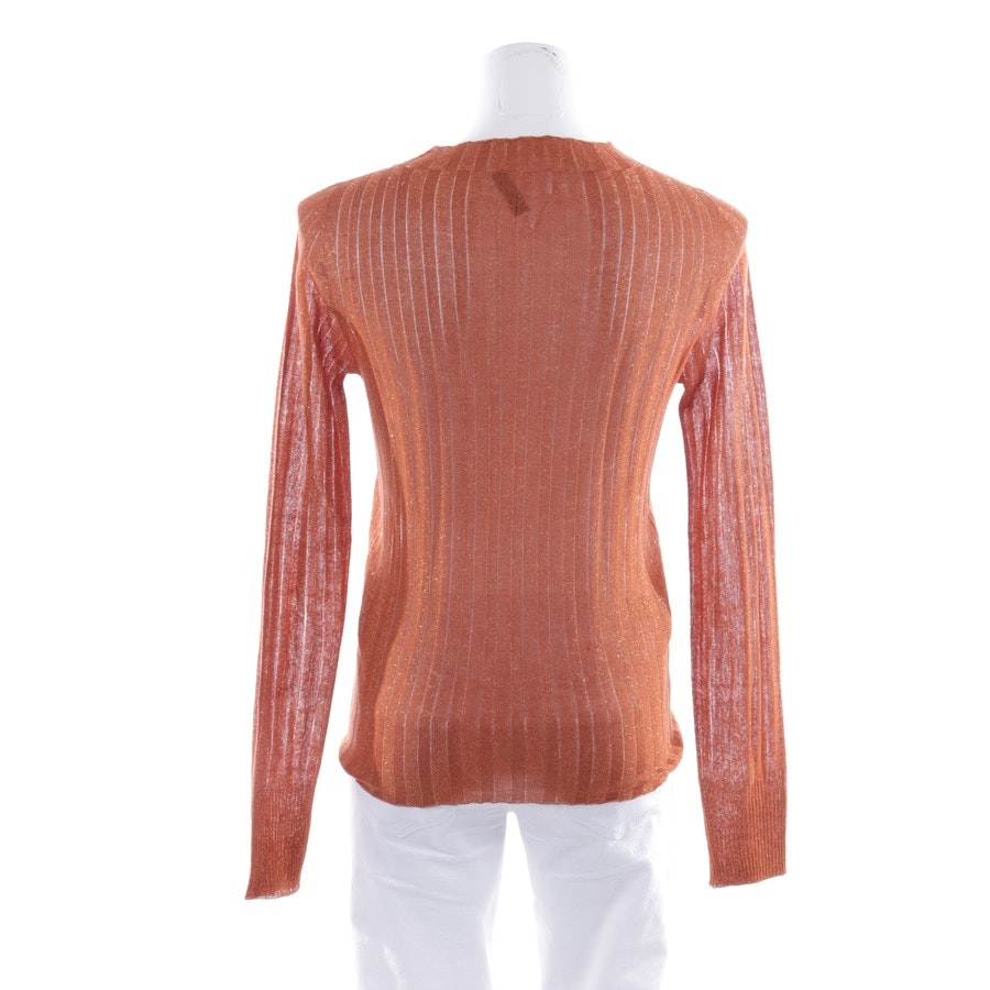 knitwear from Maliparmi in orange and gold size M