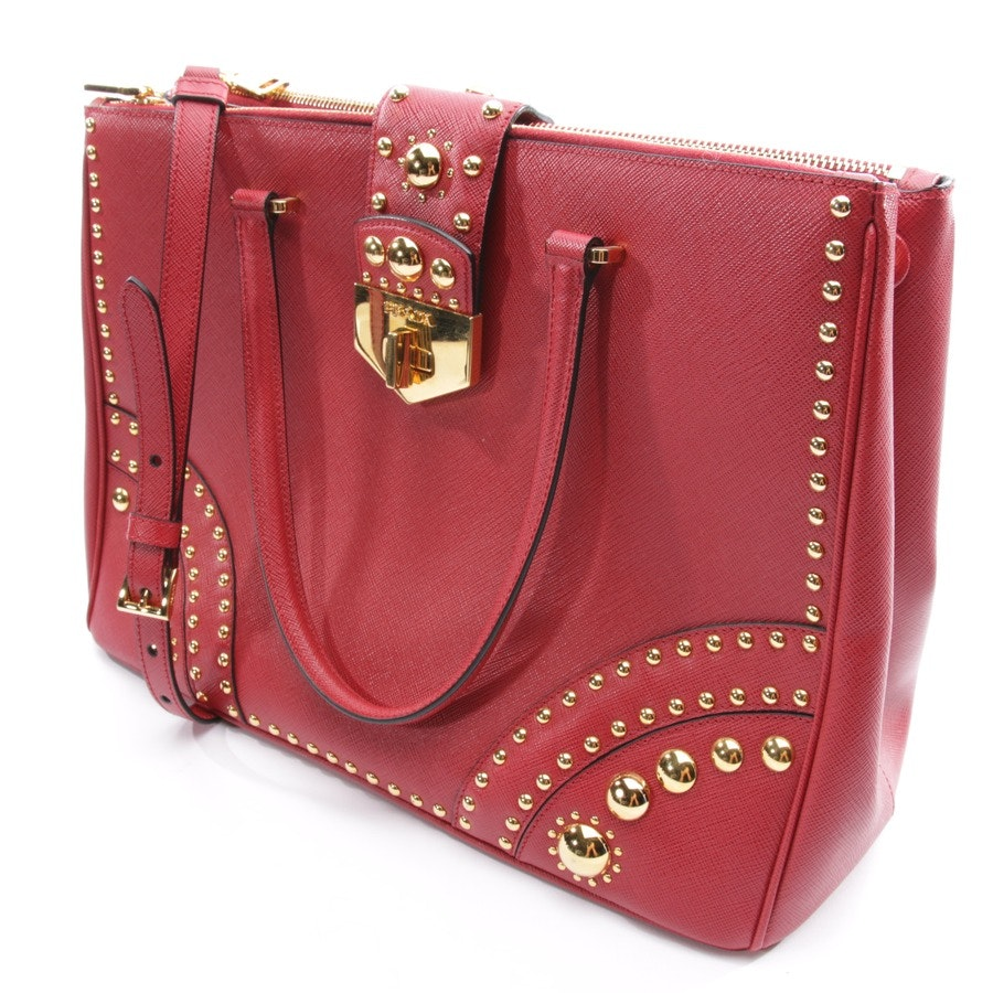 handbag from Prada in red