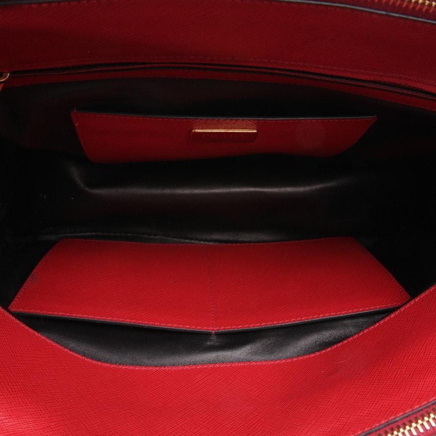 Handtasche von Prada in Rot