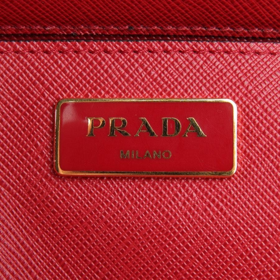 handbag from Prada in red