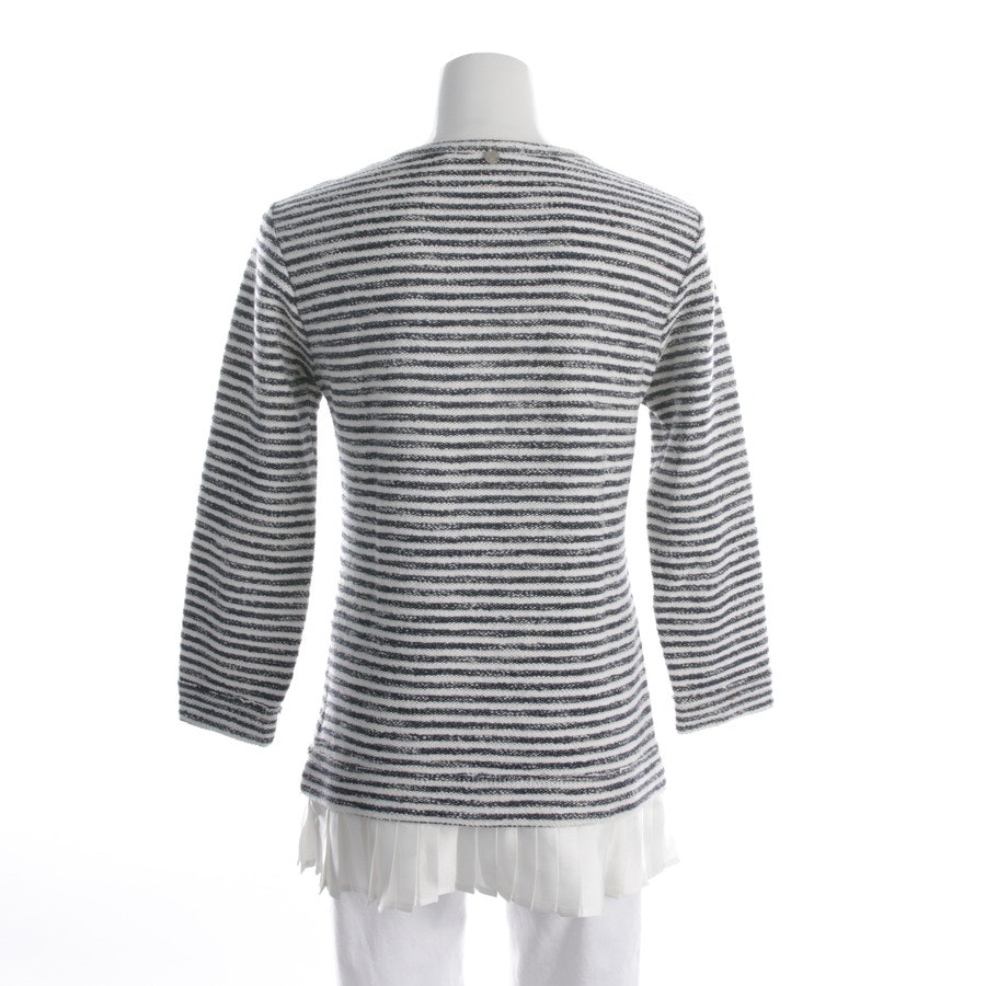 knitwear from Rich & Royal in cream and blue size M