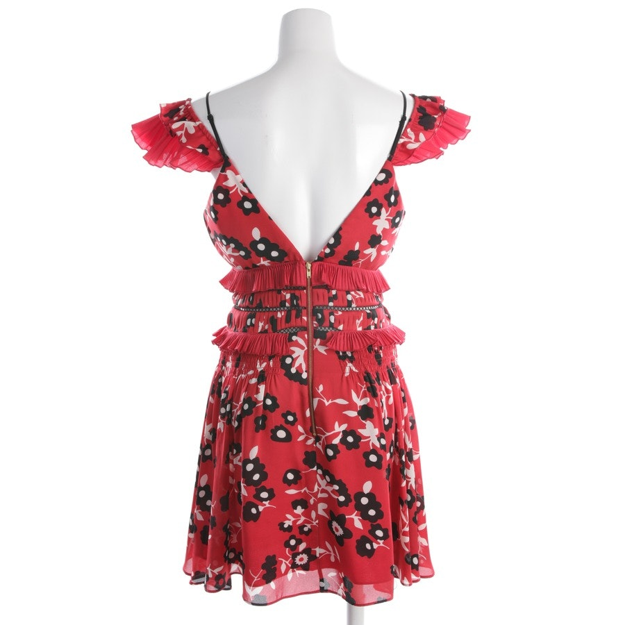dress from self-portrait in red and multicolor size 34 UK 8
