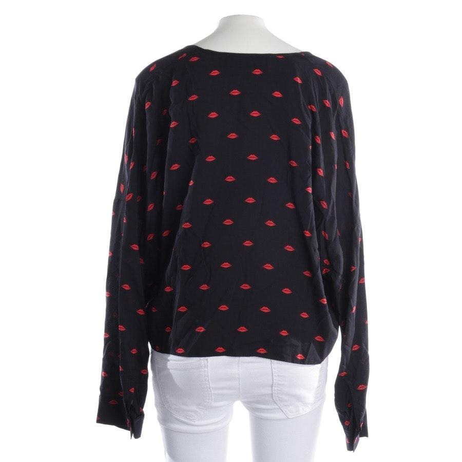 Bluse von Iro in Schwarz und Rot Gr. 36 FR 38 - Visja