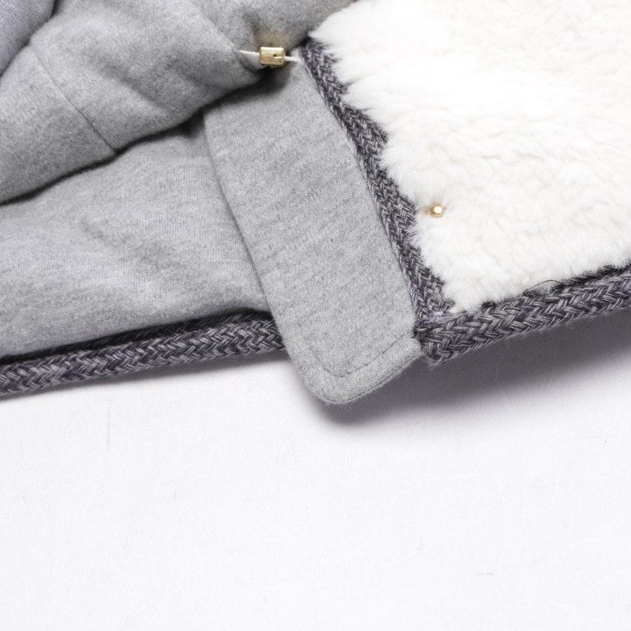 Winterjacke von Chloé in Weiß und Grau Gr. S