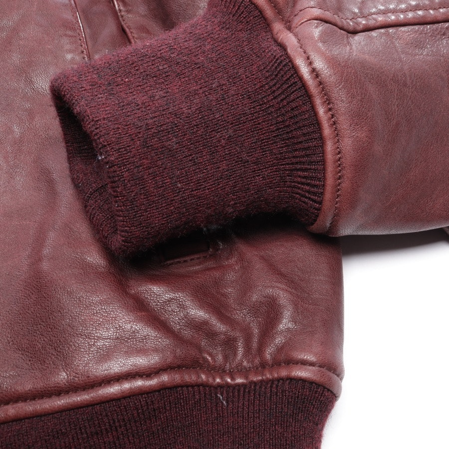 leather jacket from Isabel Marant Étoile in bordeaux size 42 FR 44