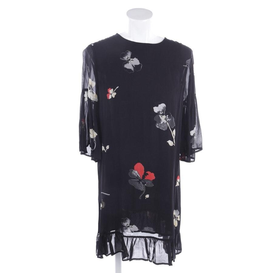 Kleid von Ganni in Schwarz und Multicolor Gr. 38 FR 40