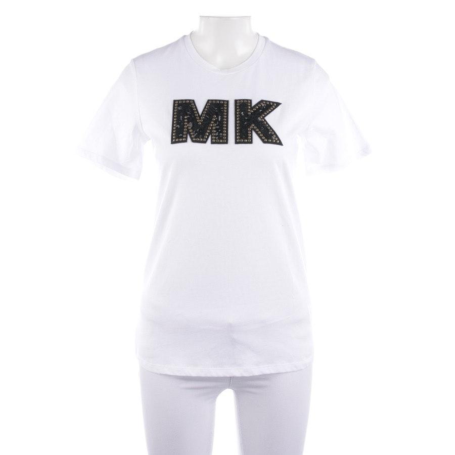 Shirt von Michael Kors in Weiß und Schwarz Gr. 2XS - Neu