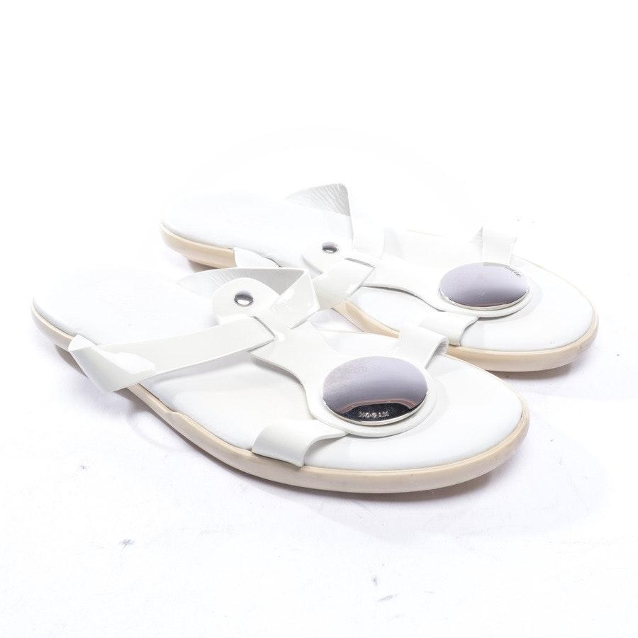 Sandalen von Hogan in Cremeweiß Gr. D 36