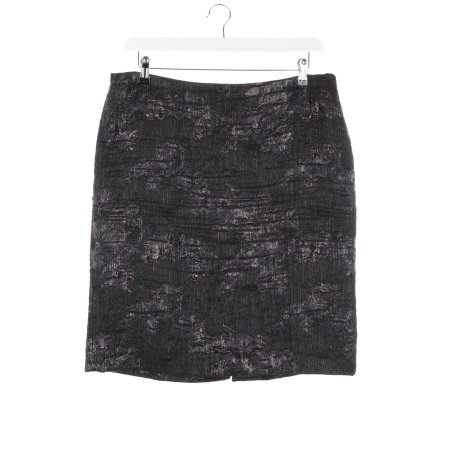 skirt from Dries van Noten in black and blue size 44