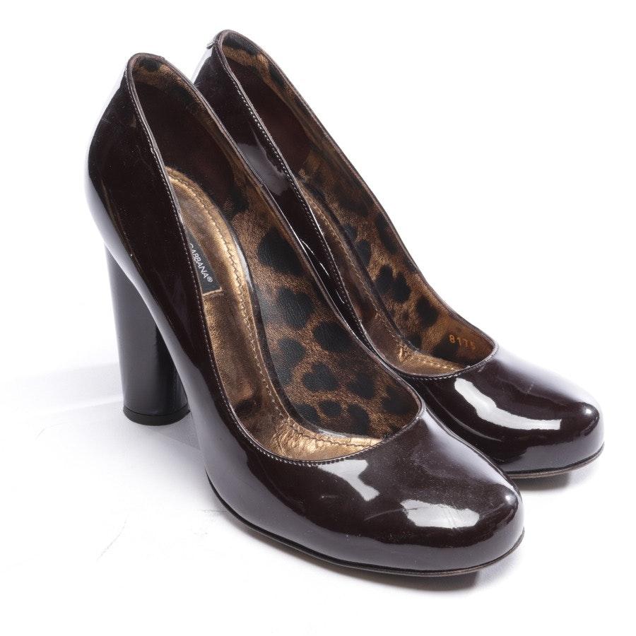 pumps from Dolce & Gabbana in auburn size D 39,5