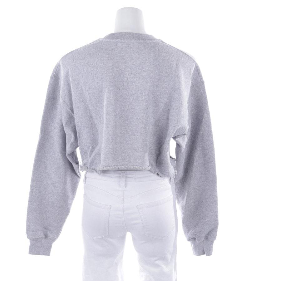 Sweatshirt von MSGM in Grau meliert Gr. S