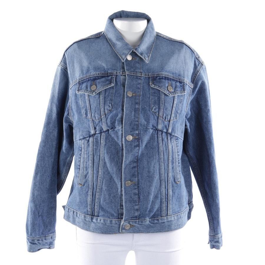 Jeansjacke von Balenciaga in Blau Gr. 40