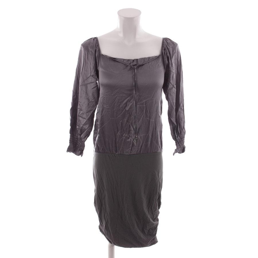 Kleid von Patrizia Pepe in Silber und Grau Gr. DE 34 IT 40 - Neu mit Etikett!