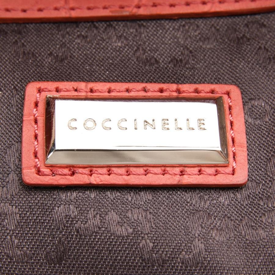 Handtasche von Coccinelle in Korallenrot