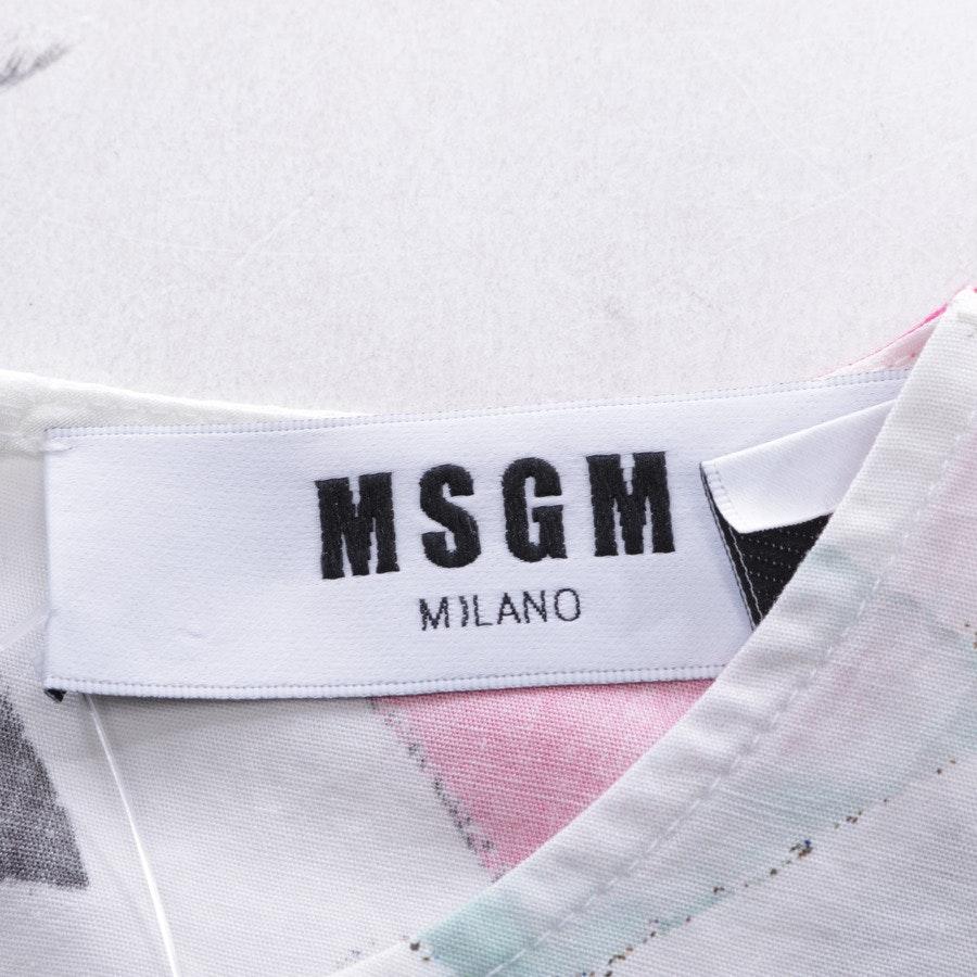 Top von MSGM in Multicolor Gr. 36 IT 42