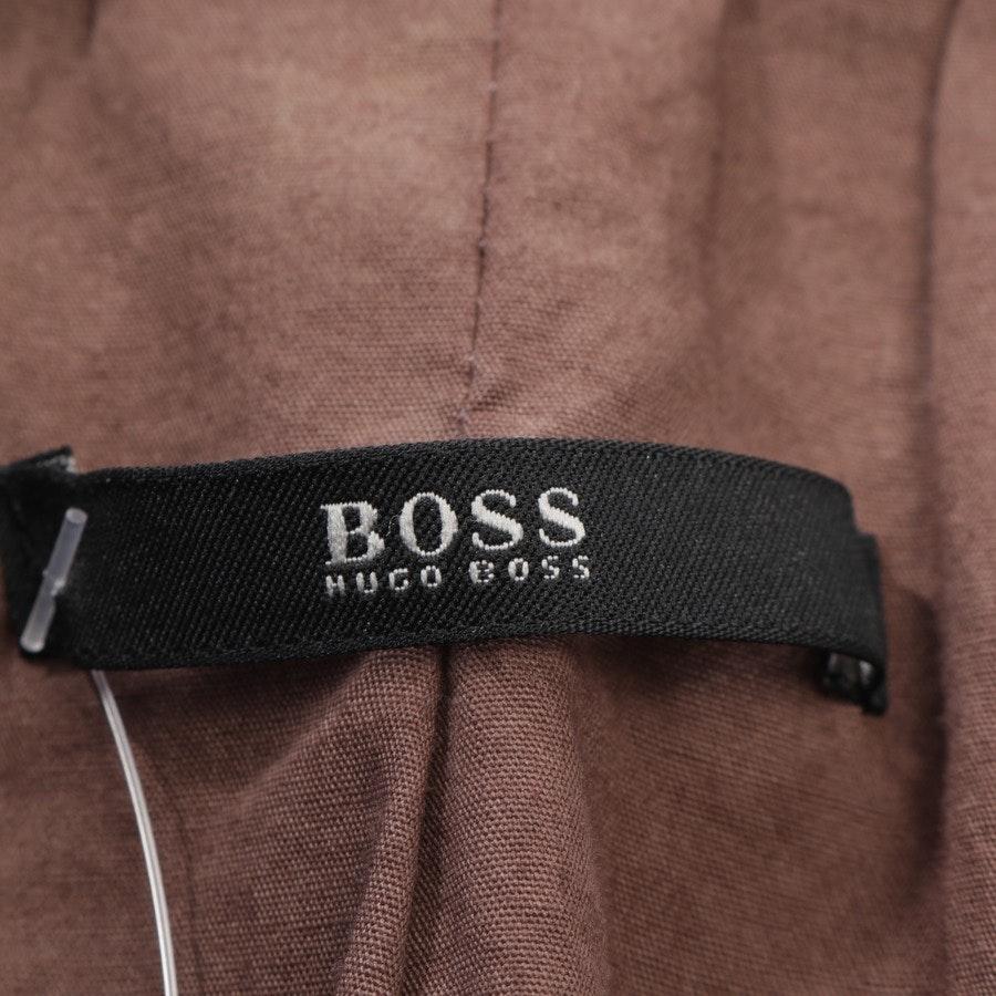 Lederblazer von Hugo Boss Black Label in Braun Gr. 36