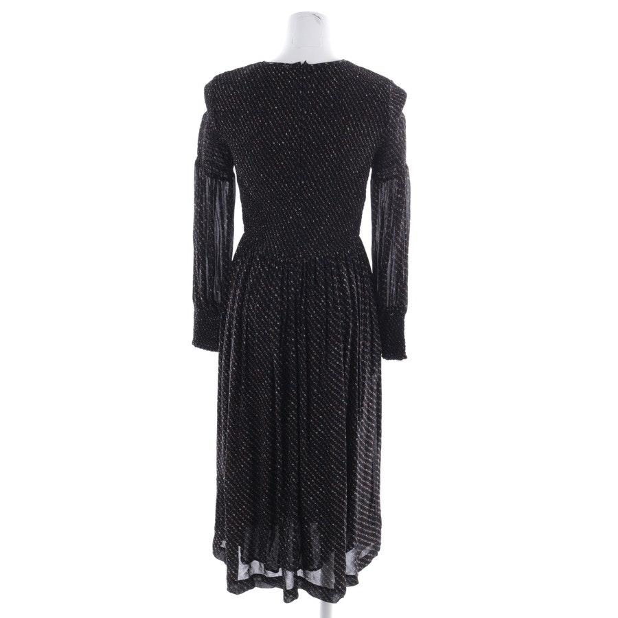 Kleid von Ganni in Schwarz und Multicolor Gr. 32 FR 34