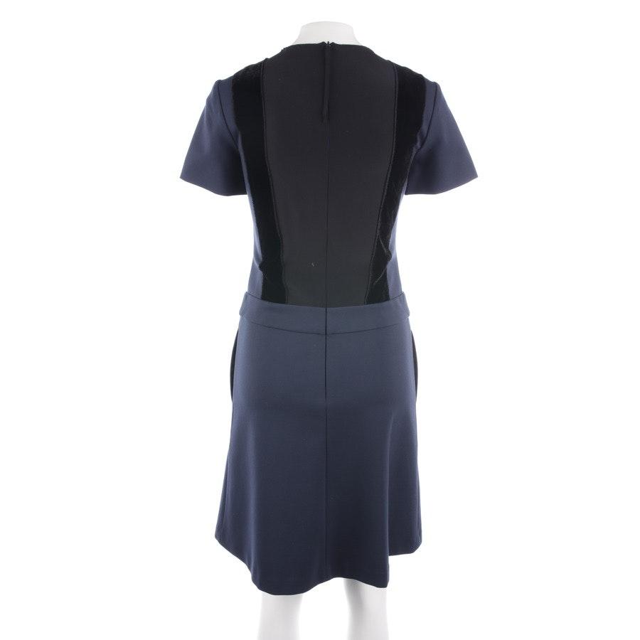 Kleid von Dorothee Schumacher in Dunkelblau und Schwarz Gr. 34 / 1
