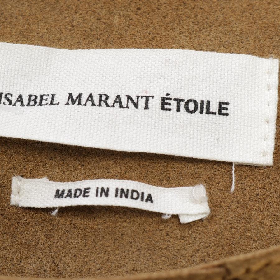 Lederjacke von Isabel Marant Étoile in Camel Gr. 36 FR 38