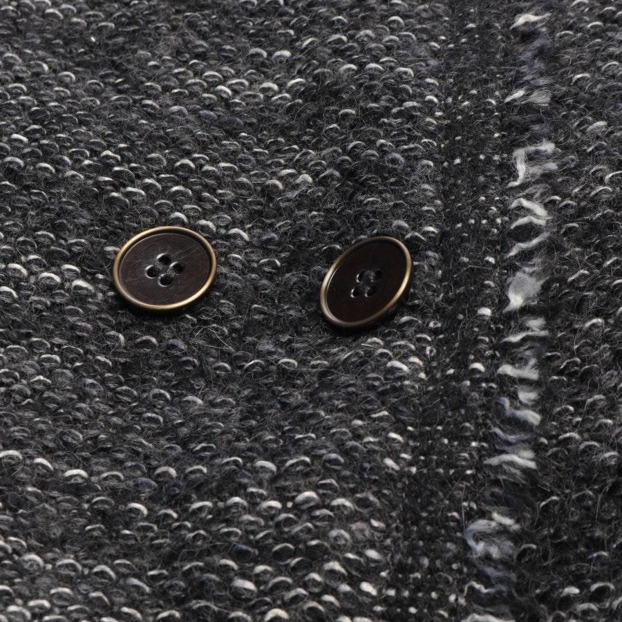 Strickblazer von Isabel Marant in Grau und Weiß Gr. 38 FR 40