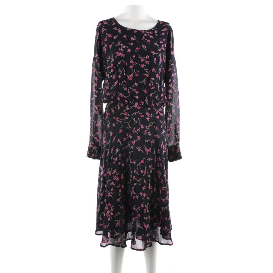 Kleid von Essentiel Antwerp in Marineblau und Rosa Gr. 36 FR 38