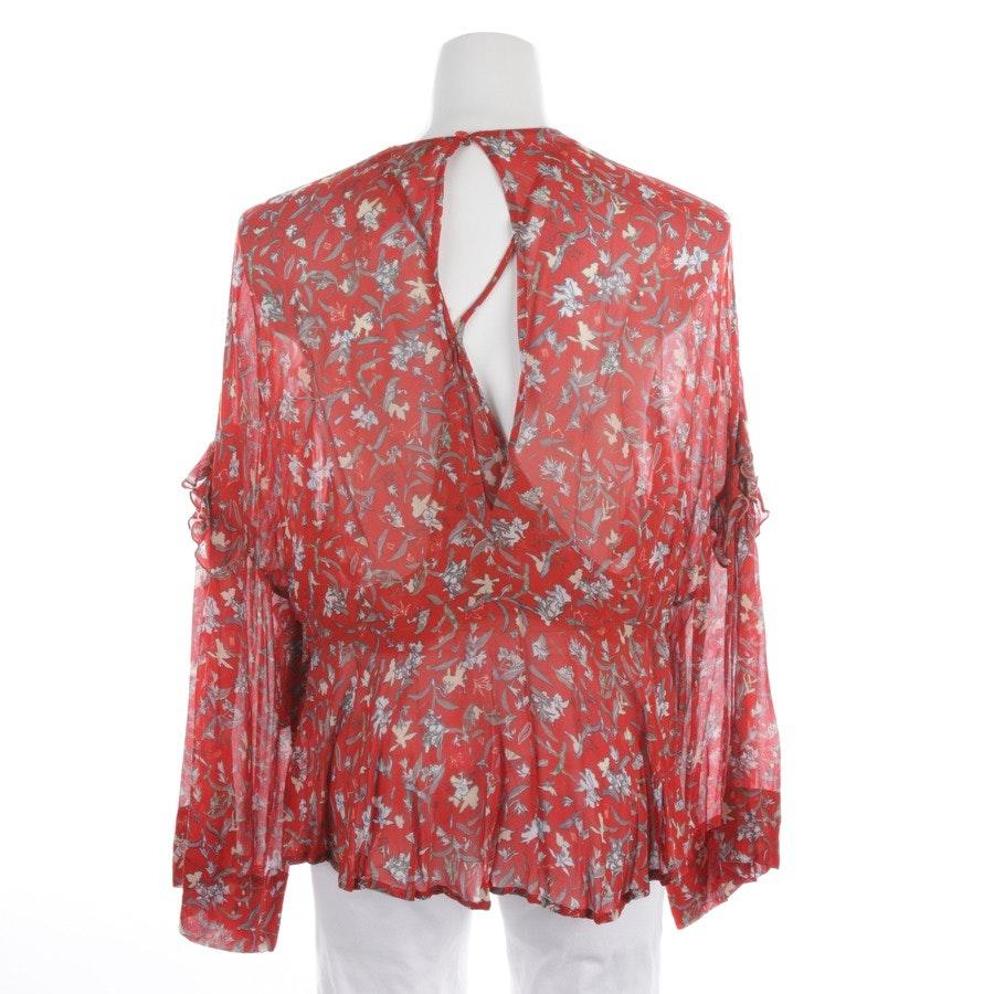 Bluse von Iro in Rot und Multicolor Gr. 40