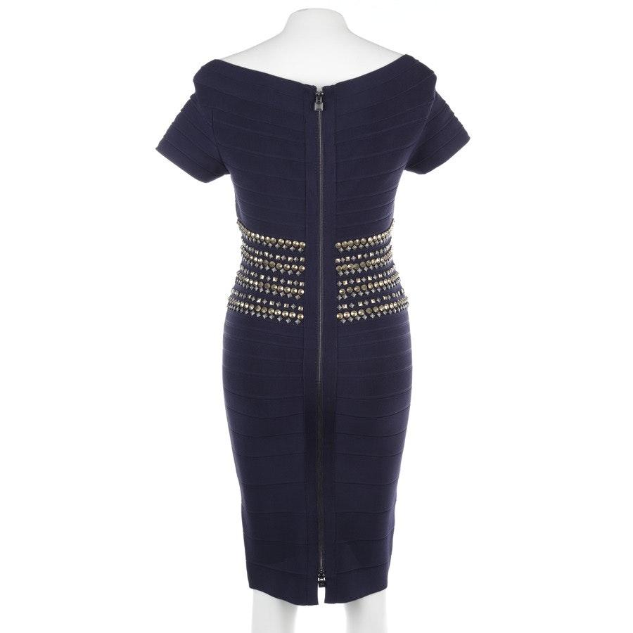 dress from Hervé Léger in dark blue size L
