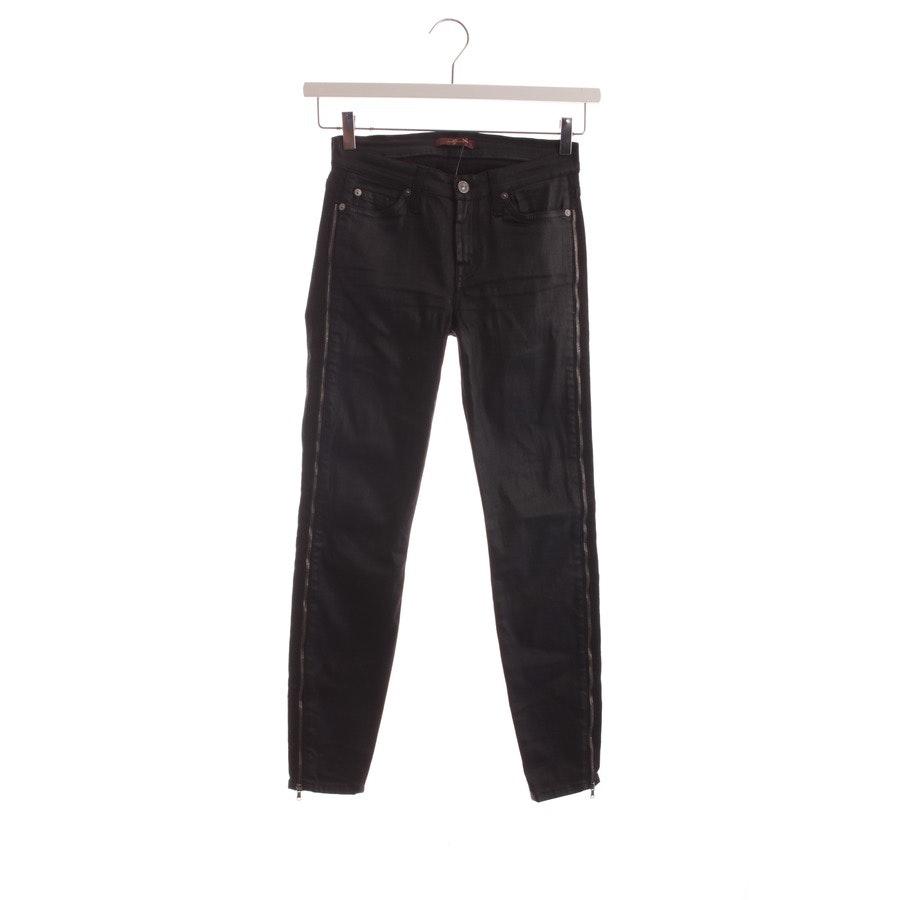 Jeans von 7 for all mankind in Schwarz Gr. W25