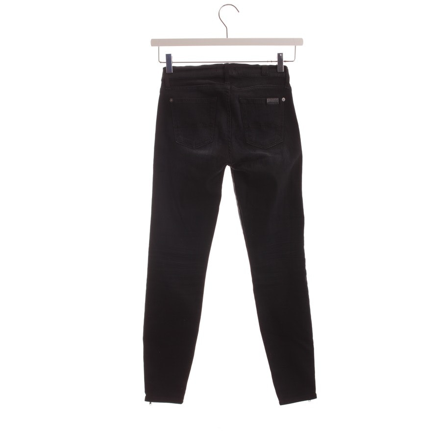 jeans from 7 for all mankind in black size W25