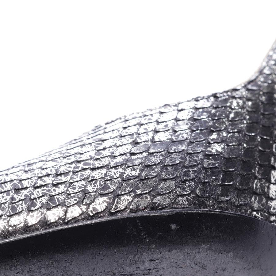 Pumps von Chanel in Silber Gr. D 39,5