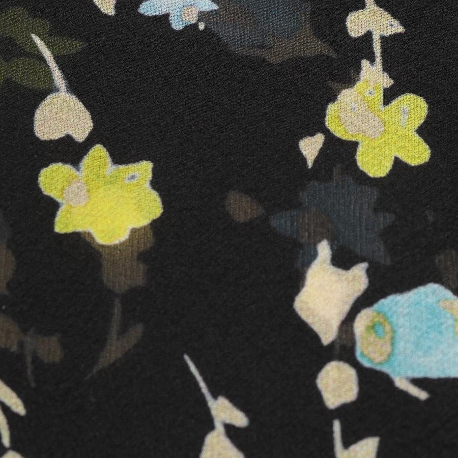 Seidenbluse von Dorothee Schumacher in Schwarz und Multicolor Gr. 40 / 4