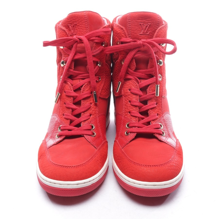 High-Top Sneaker von Louis Vuitton in Rot Gr. D 40
