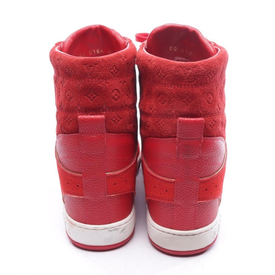 High-Top Sneaker von Louis Vuitton in Rot Gr. D 40