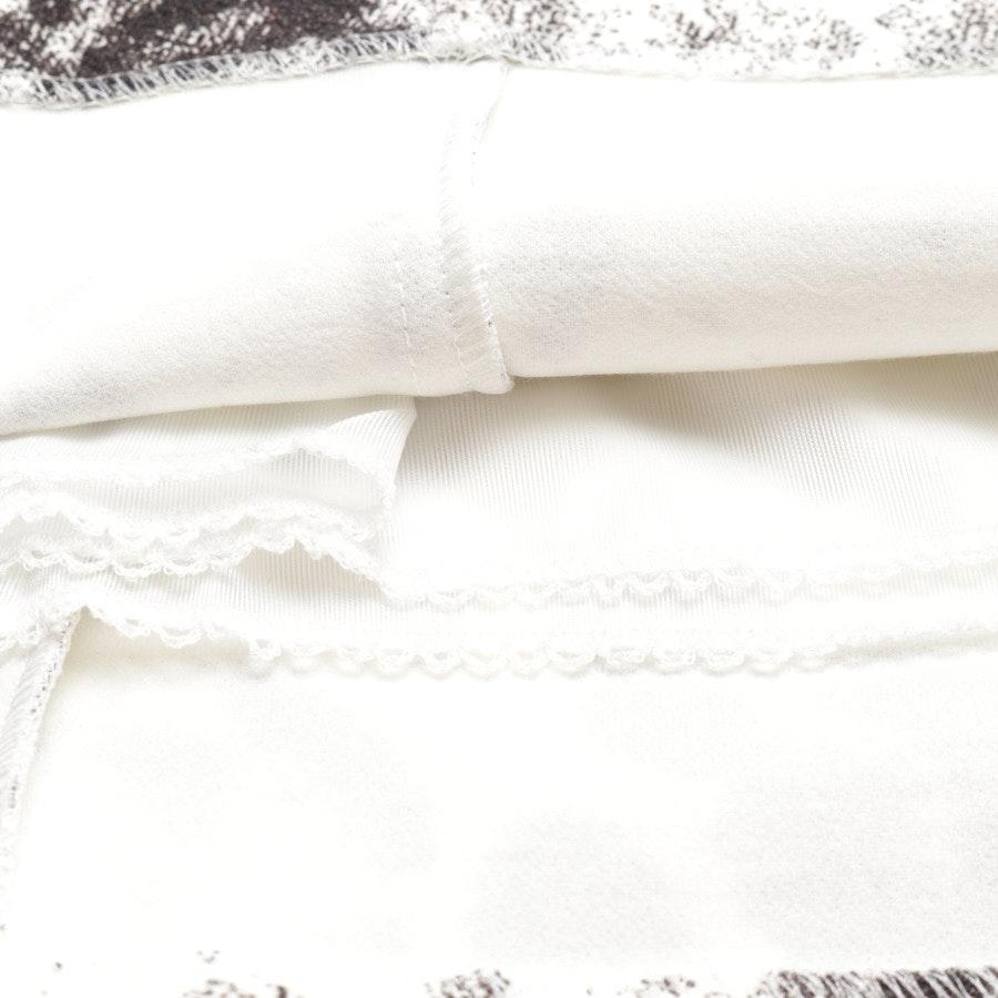 Kleid von Marc Cain in Weiß und Braun Gr. 36 N2
