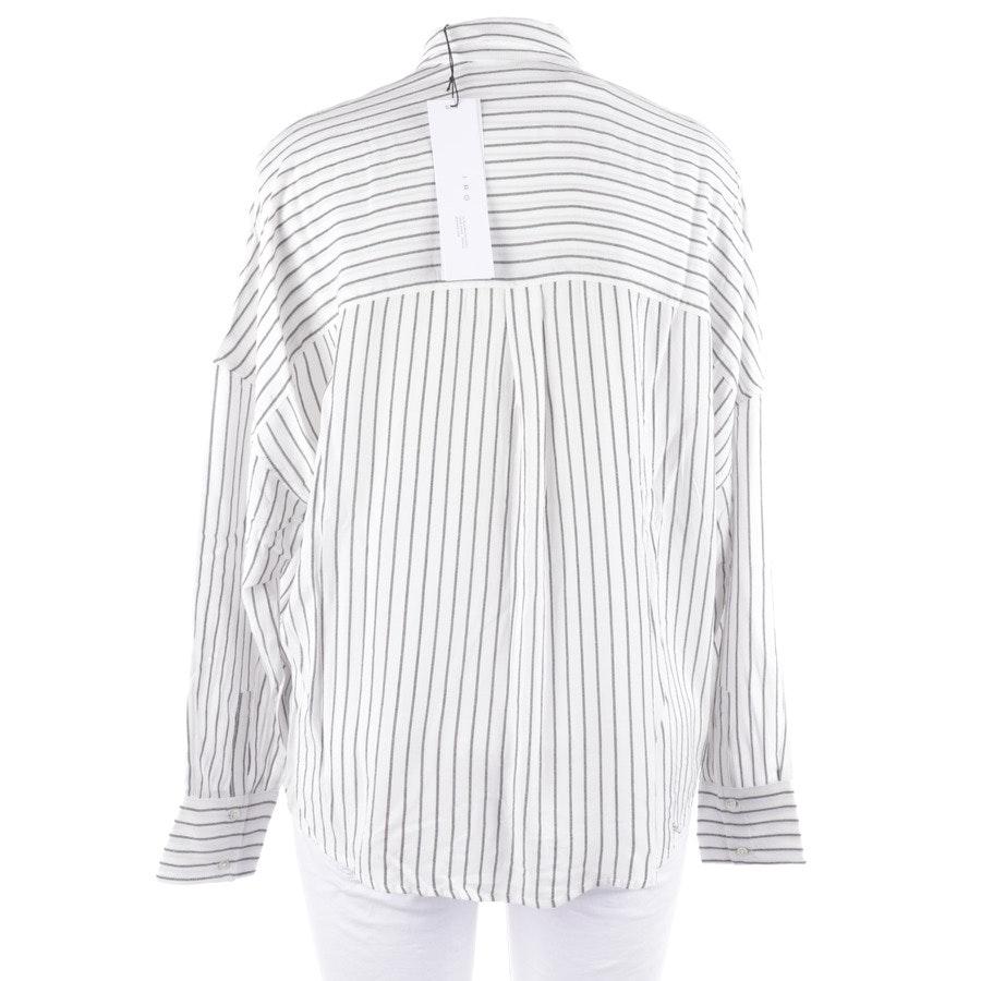 Bluse von Iro in Weiß und Schwarz Gr. 38 FR 40 - Neu