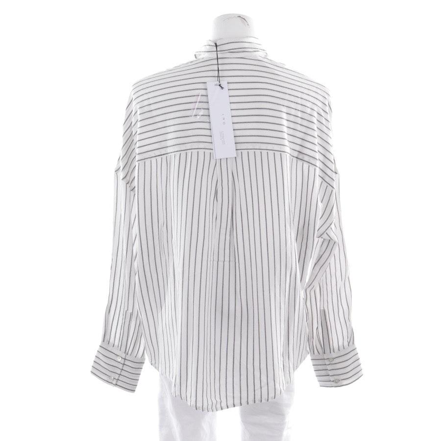 Bluse von Iro in Weiß und Schwarz Gr. 36 FR 38 - Neu