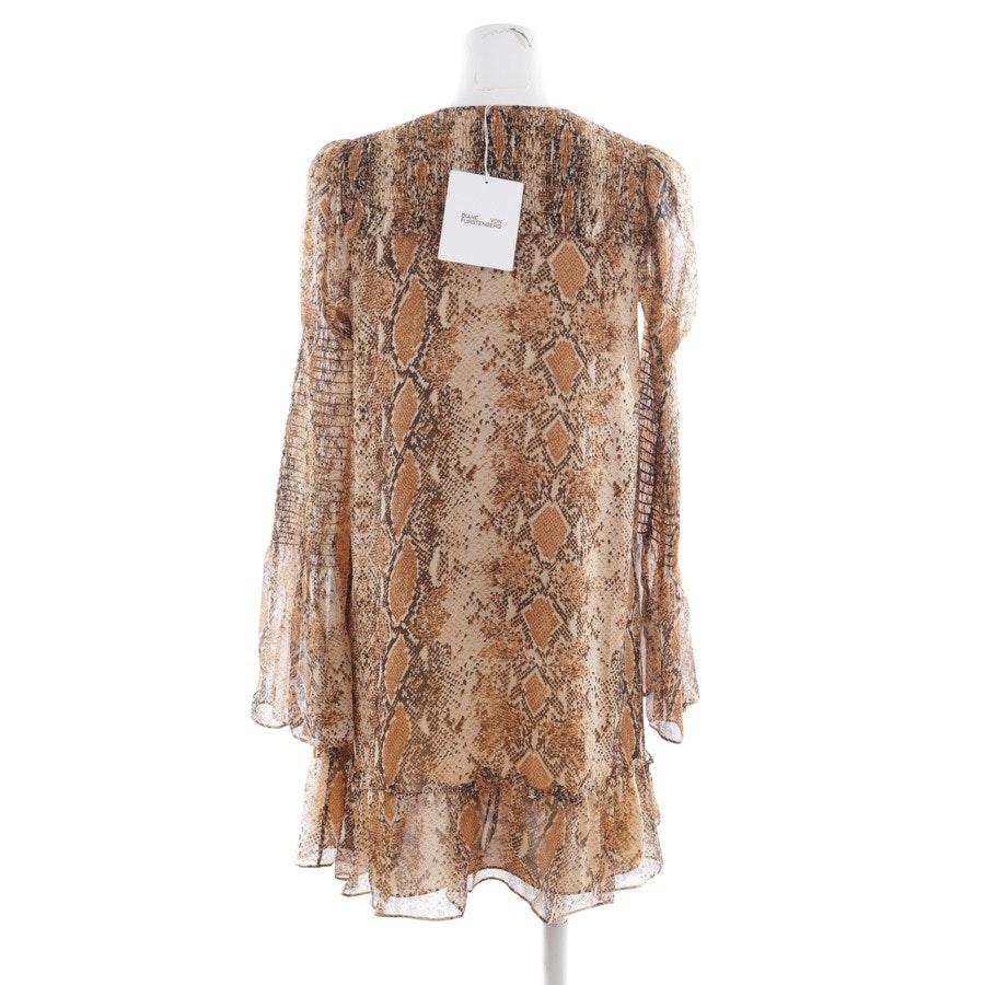 dress from Diane von Furstenberg in beige and brown size XS - new