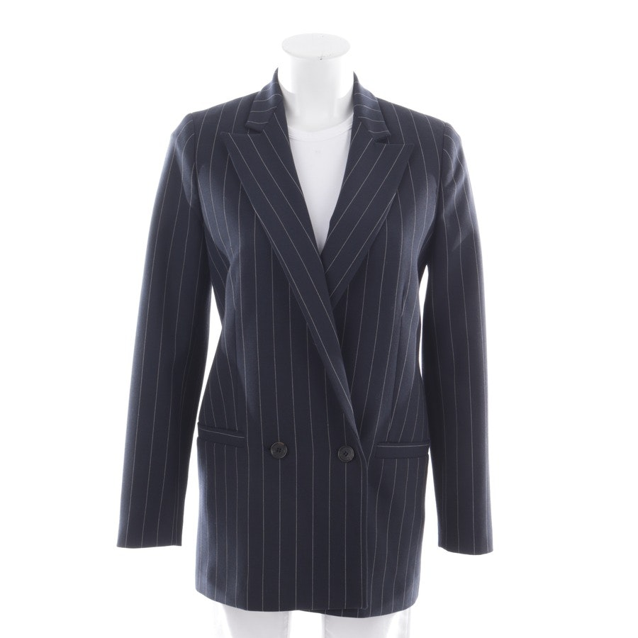 blazer from Ganni in night blue and white size 34 - new
