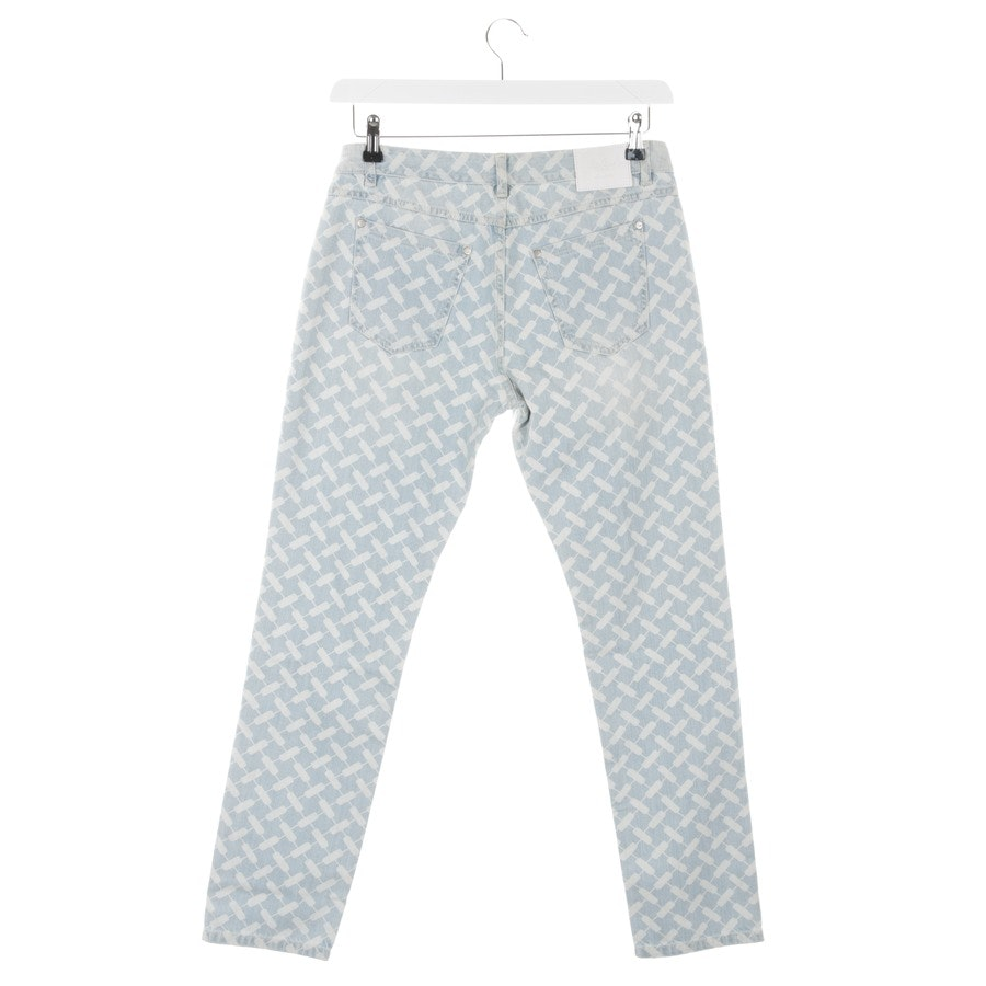 Jeans von Lala Berlin in Hellblau und Weiß Gr. W27 - Neu
