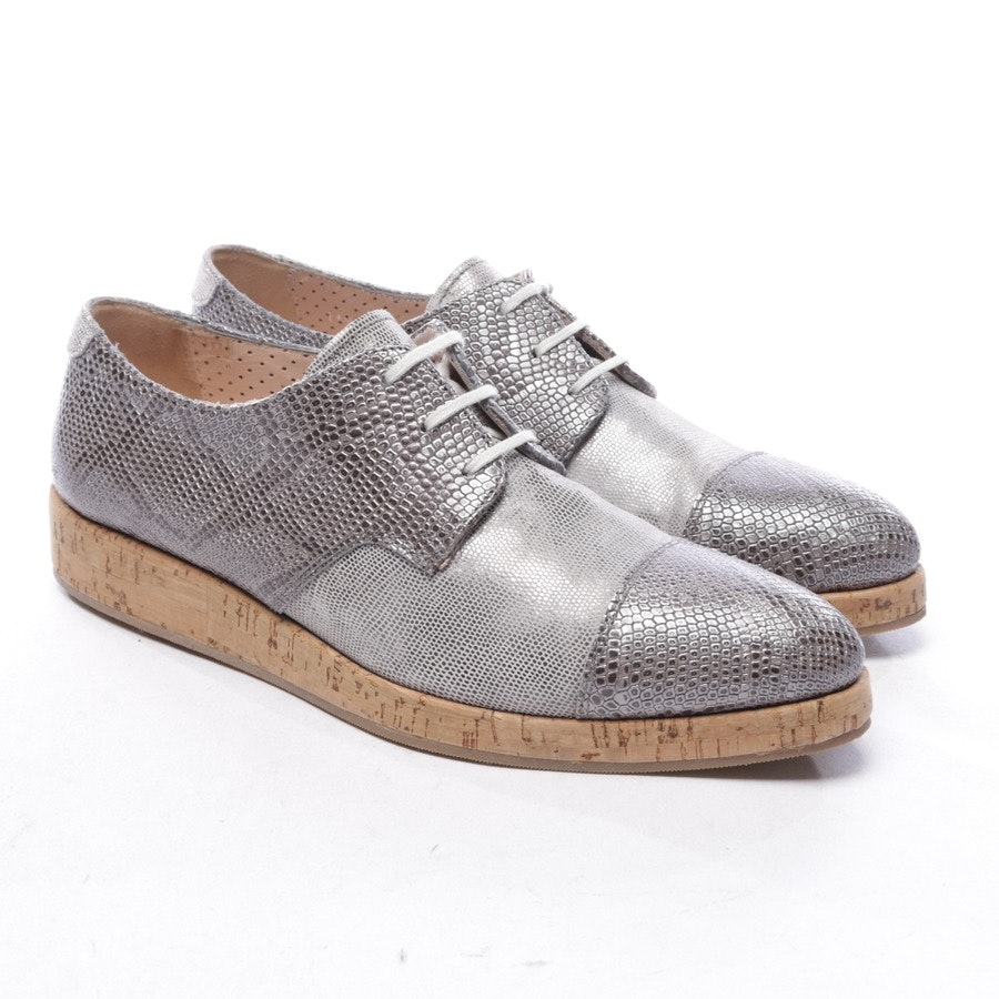 loafers from Pertini in grey and brown size EUR 37