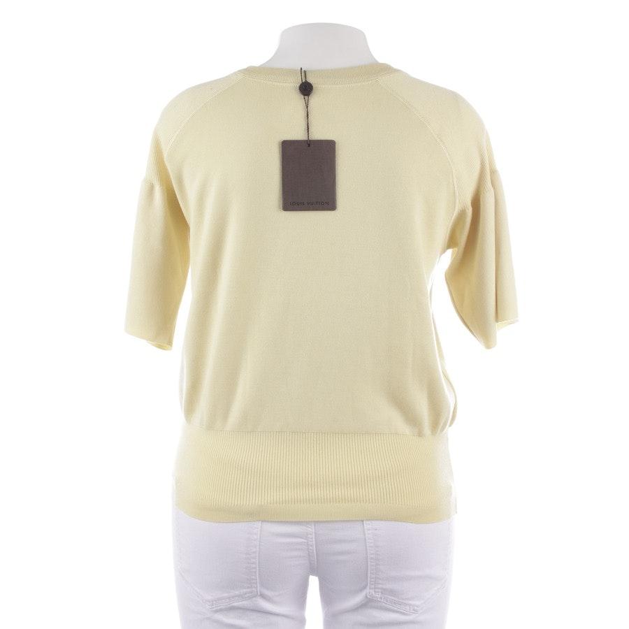 Pullover von Louis Vuitton in Pastellgelb Gr. XL - Neu