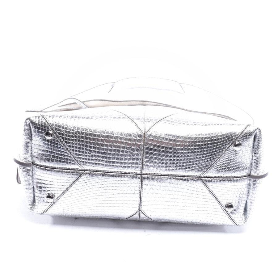 Handtasche von Tod´s in Silber - Wave