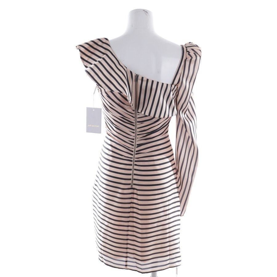 dress from self-portrait in apricot and black size 34 UK 10 - new