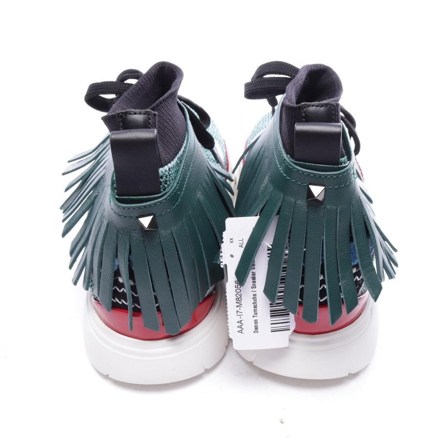 High-Top Sneaker von Valentino in Dunkelgrün Gr. D 40 - Rockstud