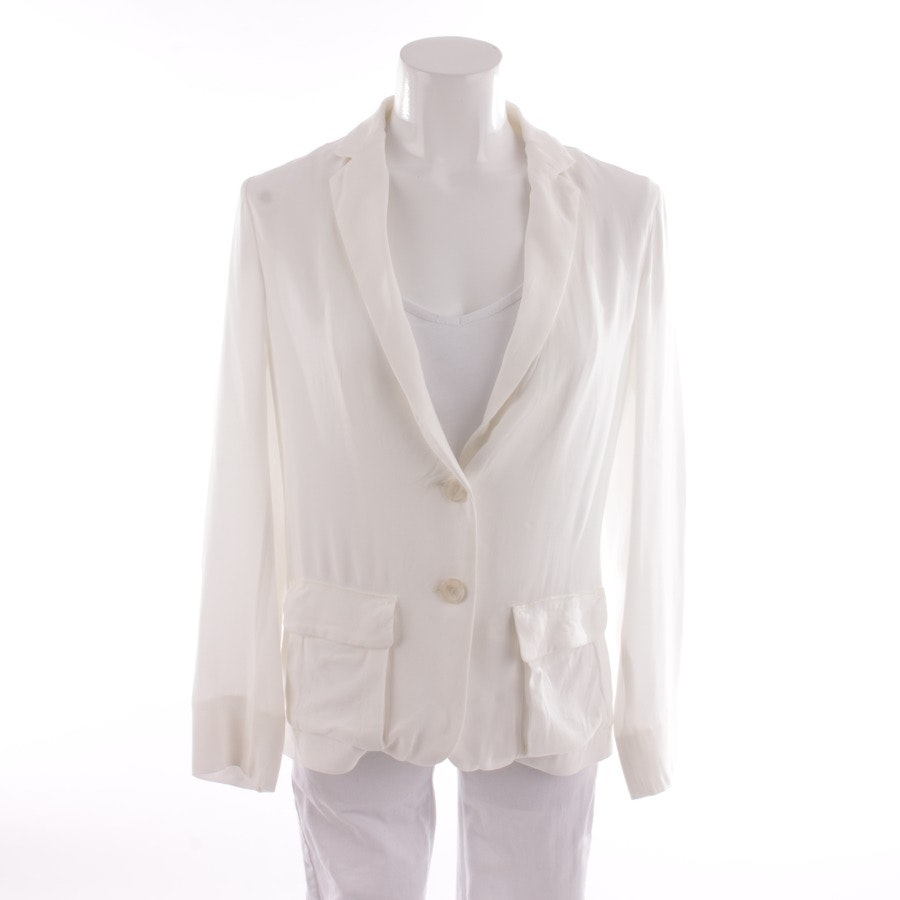 blazer from Schumacher in white size M