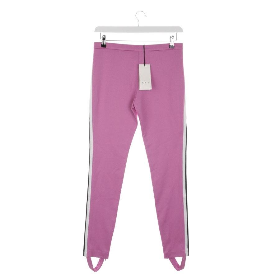 Hose von Gucci in Rosa und Multicolor Gr. M - Neu