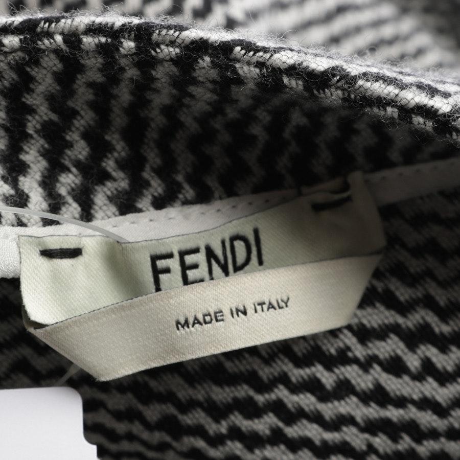 Kleid von Fendi in Schwarz und Weiß Gr. 34 IT 40