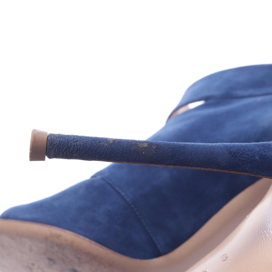 Ankle Boots von Gianvito Rossi in Blau Gr. EUR 40