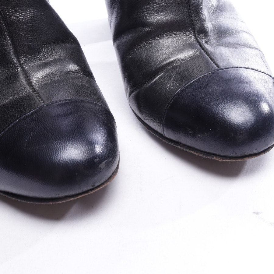 boots from Chanel in black and blue size EUR 37