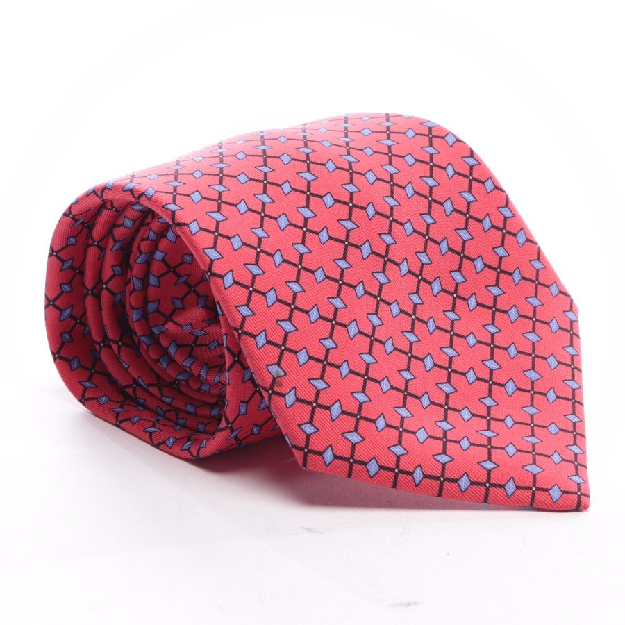 ties from Hermès in red and blue